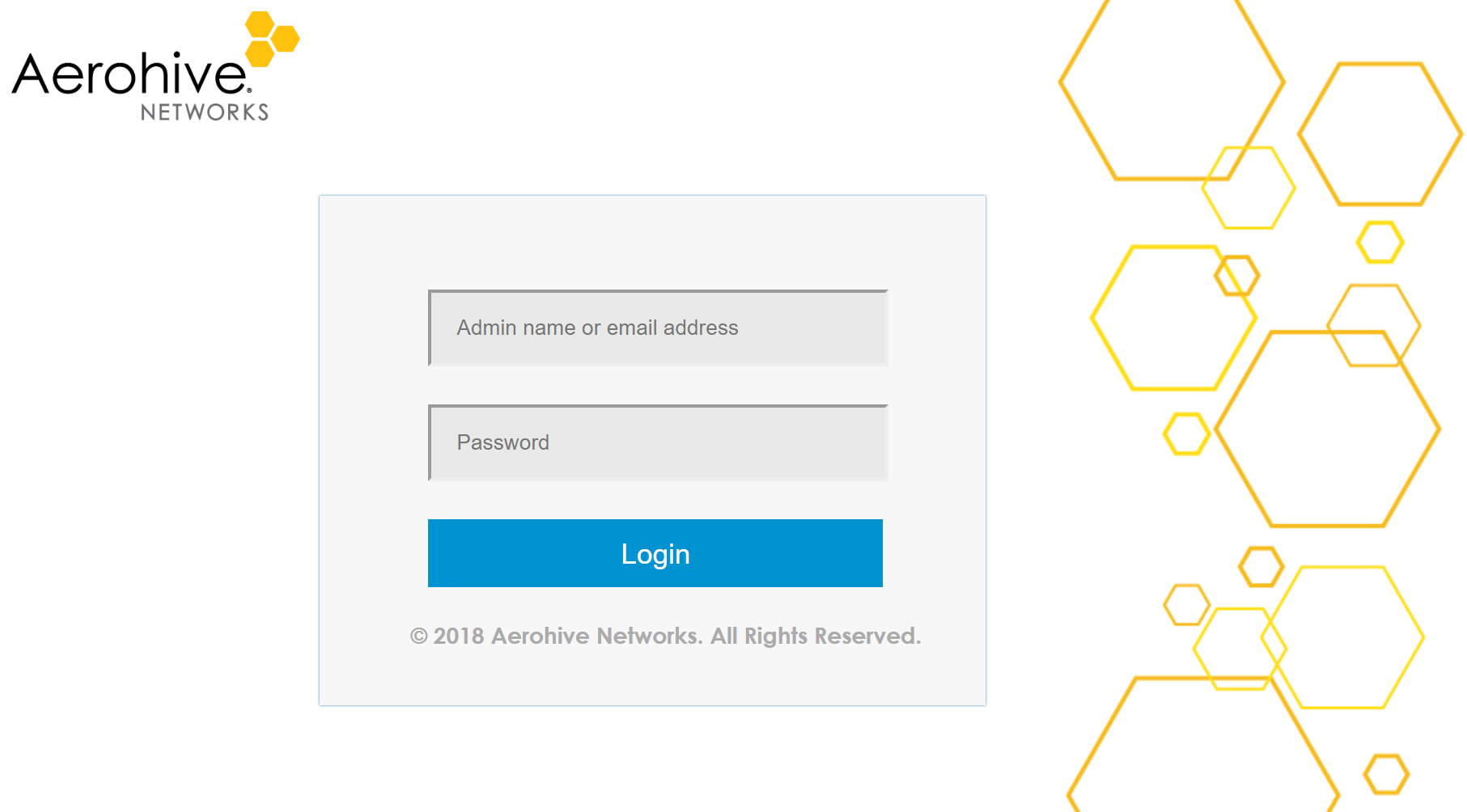 HiveManager Login